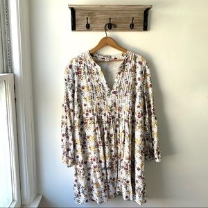 3/$20 Old Navy Floral Boho Long Sleeve Tunic XL